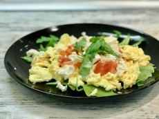 Spring Scrambled Eggs