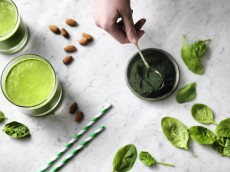 Healthy Spirulina Protein Smoothie